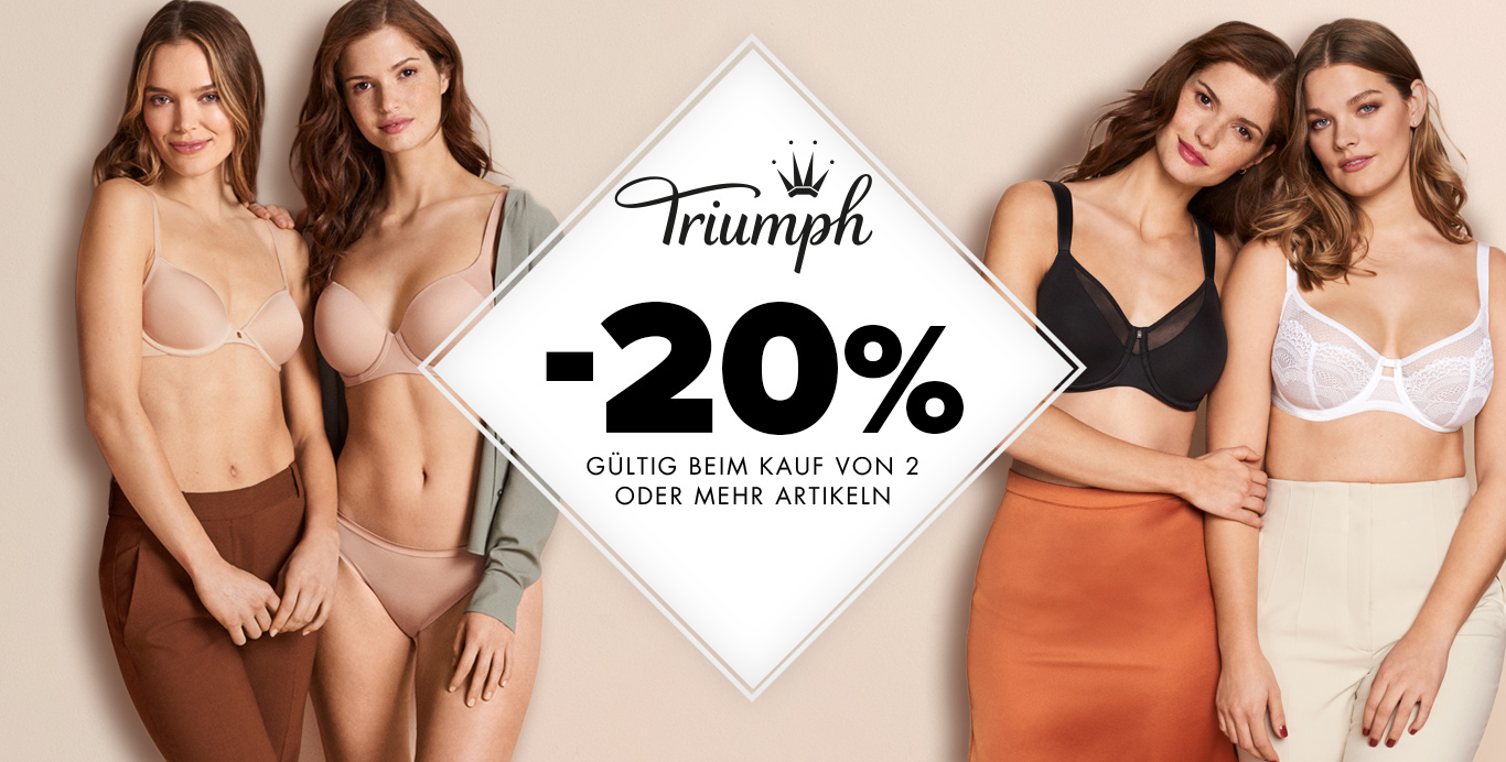 Triumph 20% - upperty.de